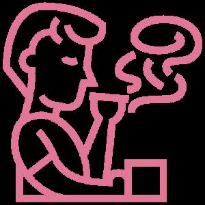 café cigarette addiction