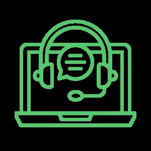 Hypnose teleconsultation ordinateur casque